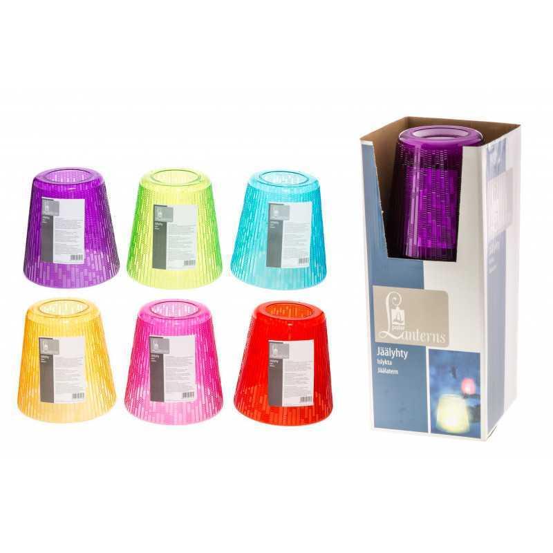 Jäälyhty kristallipalkit, eri värisiä
