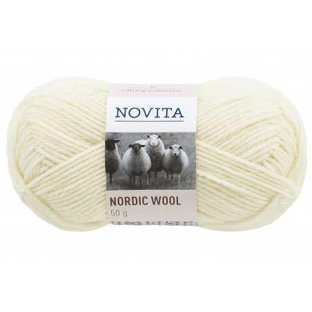 Nordic Wool, luonnonvalkoinen