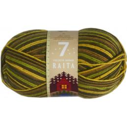7 veljestä, RAITA, vihreä-lime