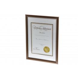 Kehys A4 Diplomi ruskea