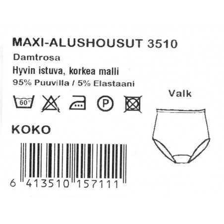 Naisten alushousut Maxi Tamsilk