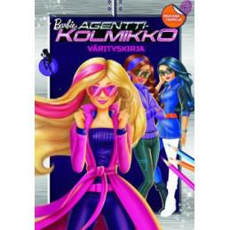 Barbie Agenttikolmikko värityskirja