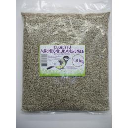 Kuoritut Auringonkukan siemenet 1,5 kg