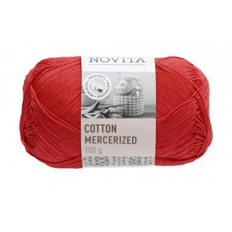 Cotton mercerized, vadelma