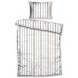 Pussilakanasetti Stripe Beige
