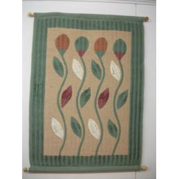 Tuulenviemiä 80x120 cm, seinävaate, vihreä