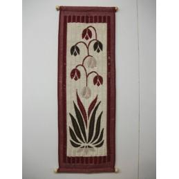 Onnenkukkia 40x120 cm, viininpunainen