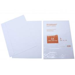 Kirjekuori C4/5 kpl, valkoinen