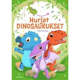 Hurjat dinosaurukset värityskirja