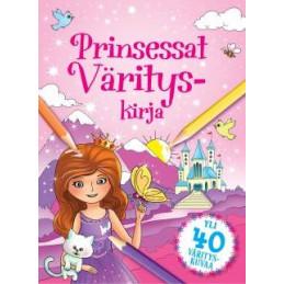Prinsessat - Värityskirja