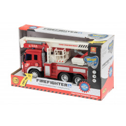 Palo-auto 28 cm valot ja äänet