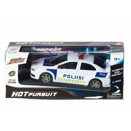 R/C poliisiauto 1:20