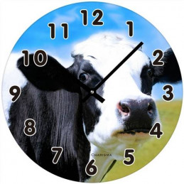 Lehmä -seinäkello