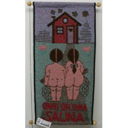 Seinävaate, Onni on oma sauna, vihreä