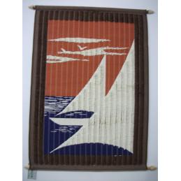 Puoliryijy 80x120 cm, Purjeet, ruskeaoranssi