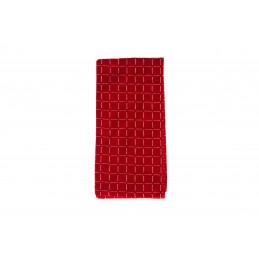 Keittiöpyyhe 50x70 cm ruudullinen punainen
