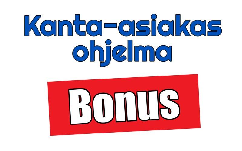 Kanta-asiakas, bonus